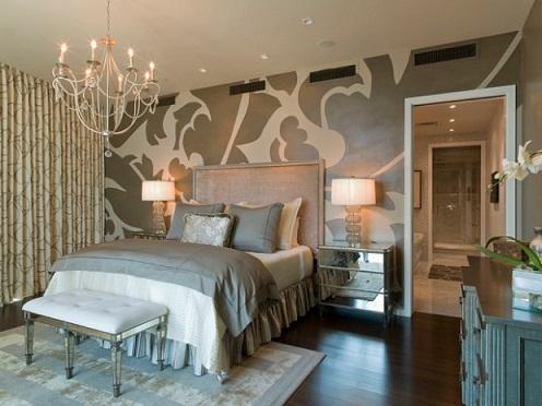 Glamorous Master bedroom designs