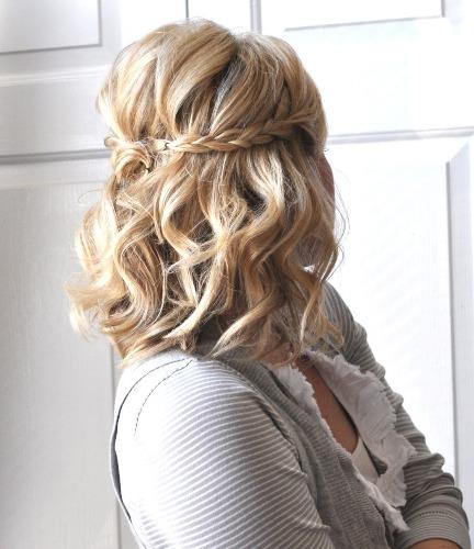 The back braids