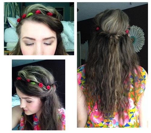 Medium Length Straight Hairstyles 2