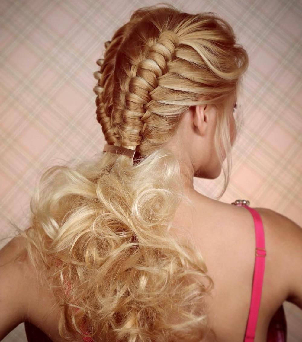 Medium Length Straight Hairstyles 4