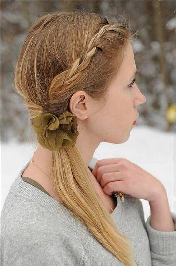 Medium Length Straight Hairstyles 13