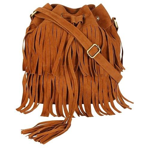 Side Bag With Fringes