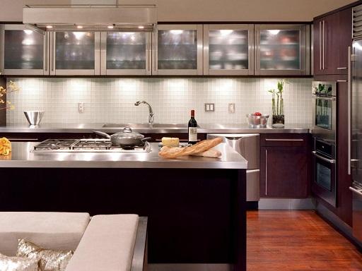 LED lighted cabinet design