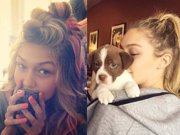 Gigi Hadid without Makeup 9