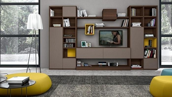Modern Showcase Design For Hall