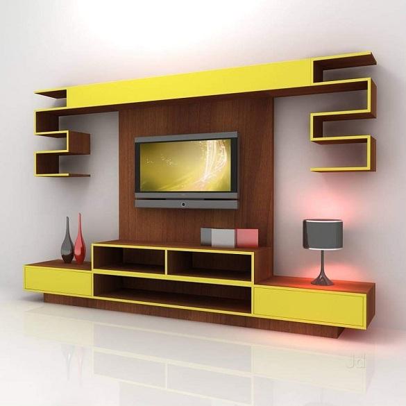 Laminated Showcase Design For Hall