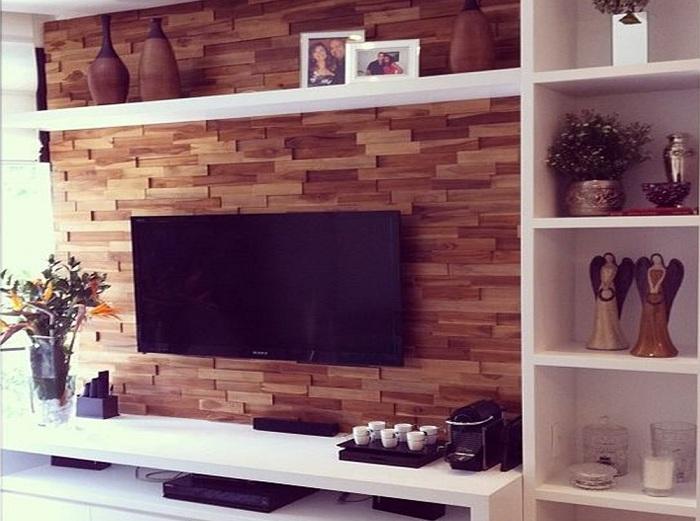 Tv Modular Wall Showcase Design For Hall