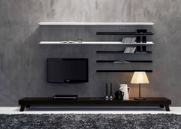 Contemporary Home Hall Showcase Design