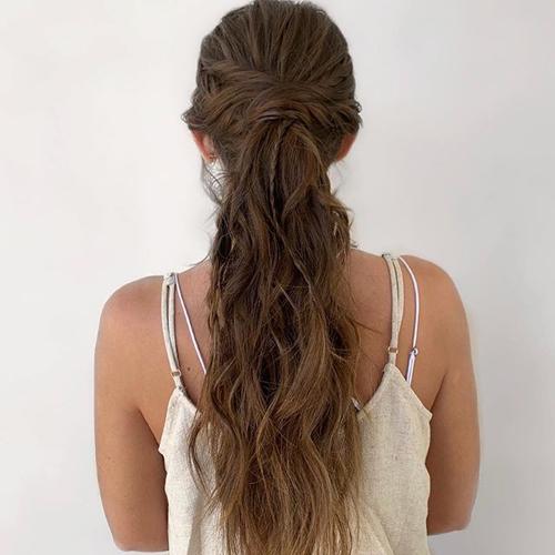 Big Long Ponytail Hairstyles