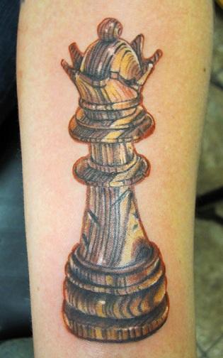 Spectacular Queen Tattoo Design