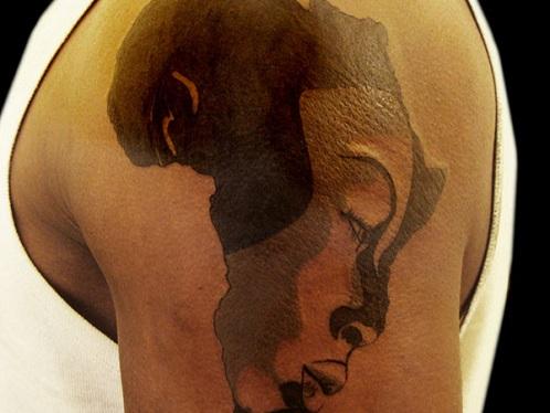 African Queen Tattoo Design