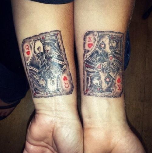 Dazzling Bonding Tattoo Design