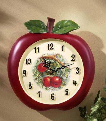 Fruit Kitchen Clock
