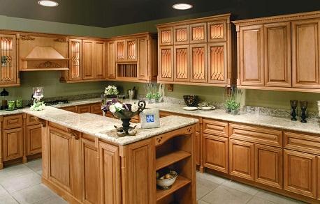 Double L-Shaped Open Kitchen Design