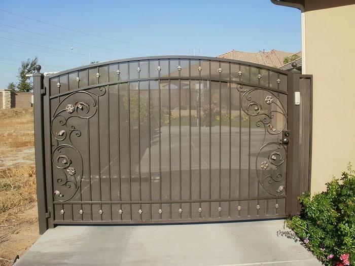 Steel Yard Gates