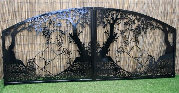 Steel Decorative Gate