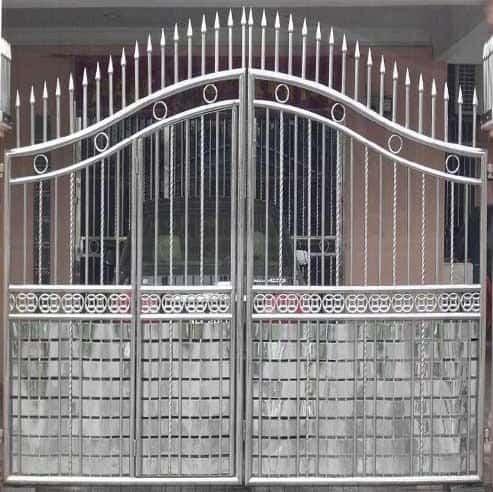 SS Steel Gate Design