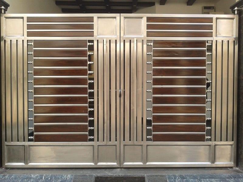 Modern Steel Gate Designs