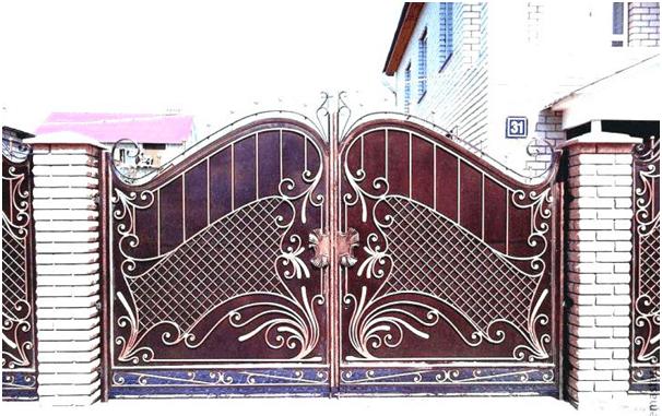 Fancy Steel Gate