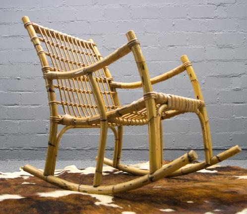 Rocking Bamboo Chairs