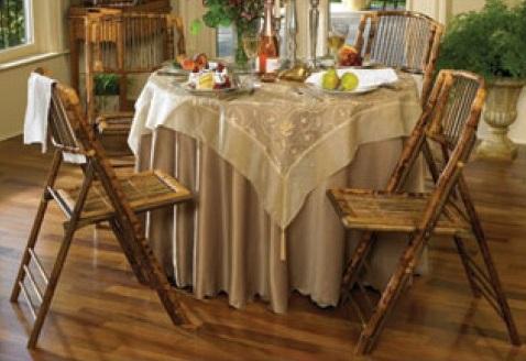 Folding Bamboo Chairs