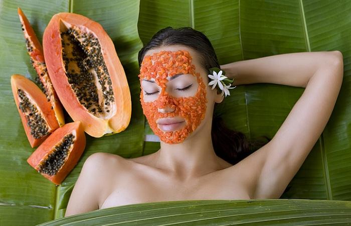 Papaya and Honey for Dry Skin