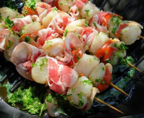 simple fish recipes - skewer fish kebab