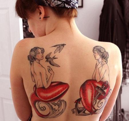 Monochromatic Tattoo
