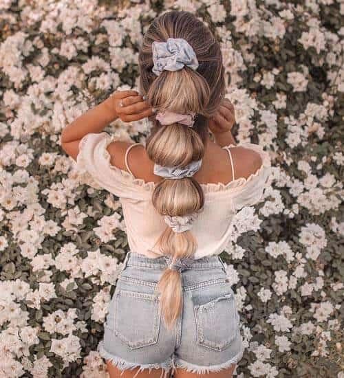 Spring Pony Hair Idea