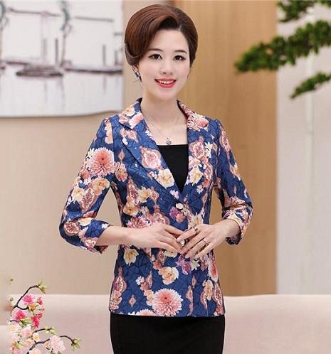 Floral Summer Blazer For Women
