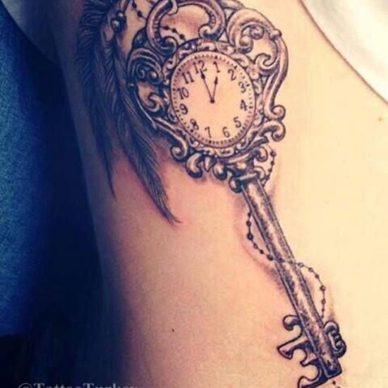 Key Tattoo Designs 6