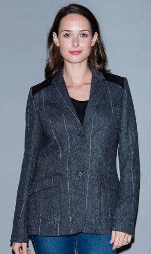 Maia Reflective Tweed Blazer