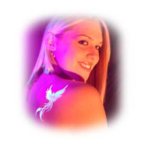Day Glow Airbrush Tattoos