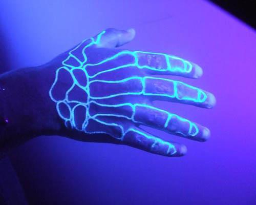 Clear UV Airbrush Tattoos