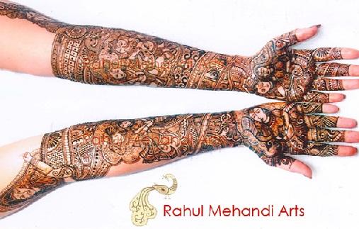 Best Mehndi Artists In India-Rahul Sonavane