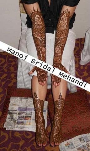 Best Mehndi Artists In India-Manoj