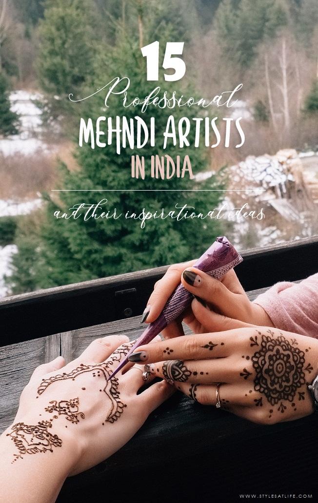 Mehndi Artists in India