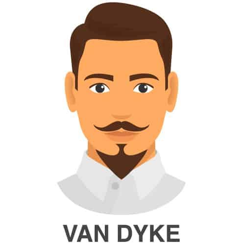 Van Dyke Facial Hair Style