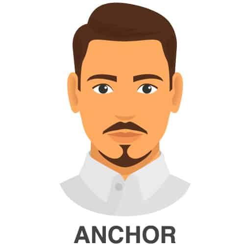 Anchor Facial Hair Look