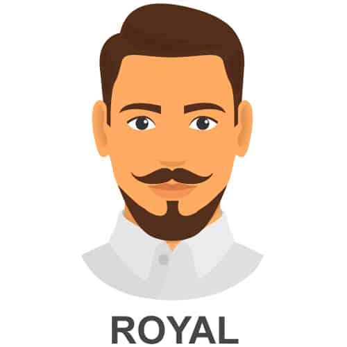 Royal Facial Hair Style