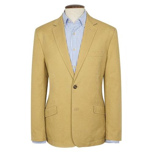 Cotton Linen Blazer For Men