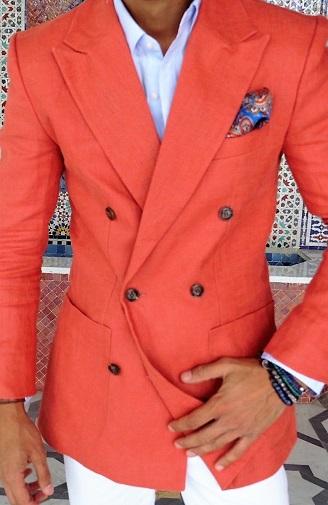 Linen Blazer For Summer