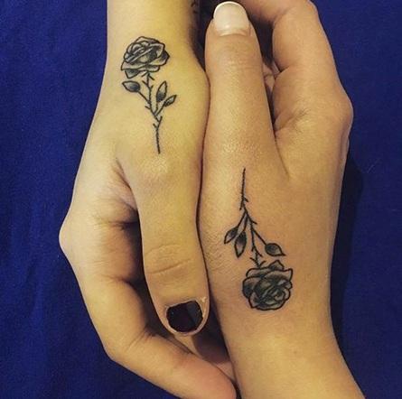 Friendship Flower Tattoo designs