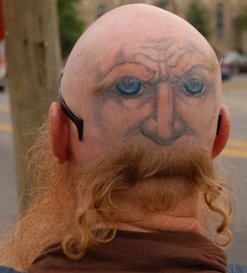 Back Head Tattoos