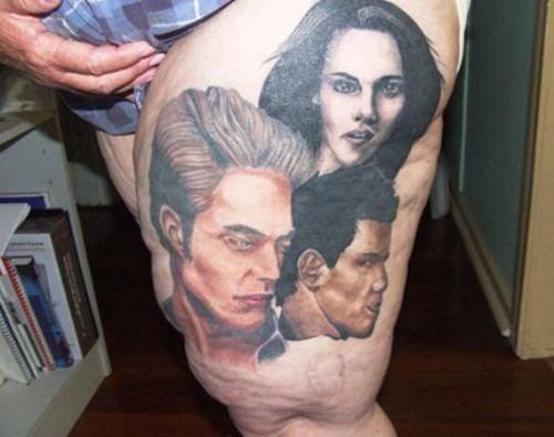 Twilight Funny Tattoo