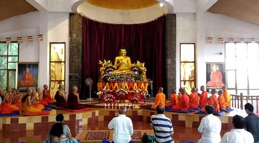 Buddha Temple In Hyderabad