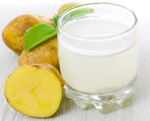 Potato Juice for Hair