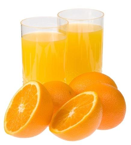 Orange Juice for Hair Growth