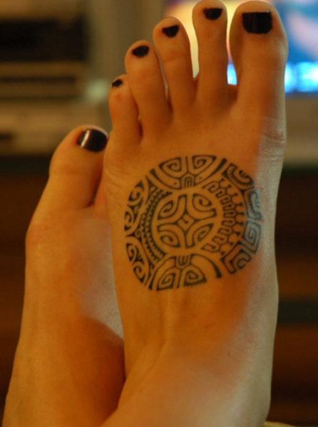 Marquesan Cross Maori Tattoo