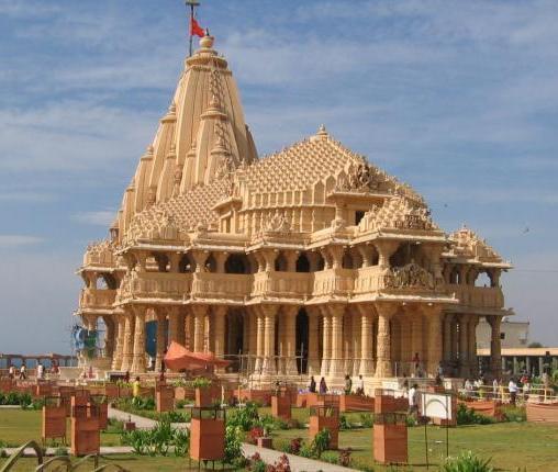 Dwarkadhish Temple In Dwarka